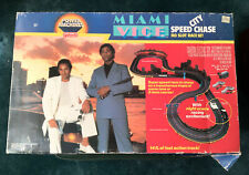 Galoob Miami Vice City Speed Chase Ho Slot Race Set - Complete - Htf