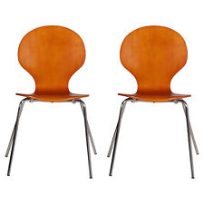 "Mid-Century modern Pair of chairs 1960s ""Farfalla"" Danish coppia sedie - MA T22"
