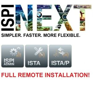 BMW ISPI NEXT - ISTA 4.27.31 ISTA SDP 4.27.40 ISTA-P 3.68.0.800