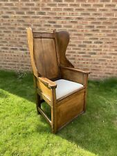 More details for english antique lambing chair