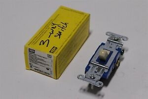 Hubbell Pro Toggle Switch 3 Way 1203I for back and side wiring