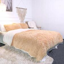 Sleepwish Luxury Plush Shaggy Bedding - 3 Pieces - 1 Faux Fur Duvet Cover a Twin