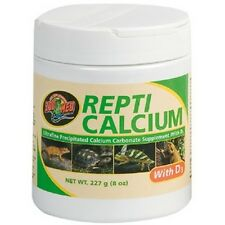 ZOOMED REPTI CALCIUM + D3 POUR REPTILES ET AMPHIBIENS ZOO MED 227gr (ZMA348E)