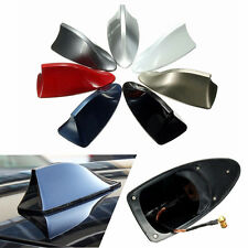 ABS Car Exterior Shark Fin Universal Roof Antenna Radio FM/AM Decorate Aerial