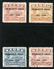 Used George V (1910-1936) Nauruan Stamps (Pre-1968)