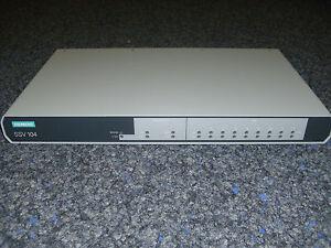 Siemens 6GK1104-0AA00 6GK1 104-0AA00 Sinec SSV 104 Industrial Ethernet Switch