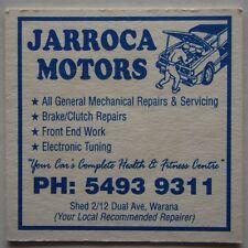 JARROCA MOTORS SHED 2 12 DUAL AVE WARANA 54939311 WATERS BOWLS CLUB COASTER
