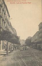Tarjeta Postal. ALCOY. Alicante. Calle de Anselmo Aracil.