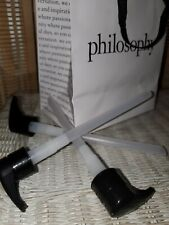 New! Lot of 3 Philosoohy Pump Dispensers for 32oz Bottle Body Lotion Wash Purity