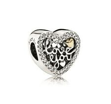 NEW! Authentic Pandora Love Script Clear CZ Charm #792037CZ $75