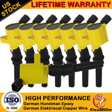 Ignition Coil Pack For Ford F150 Expedition 2000 2001 2002-2004 4.6L/5.4L TRITON