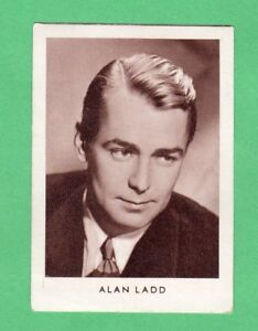 1952  Alan Ladd German  Film Star Card  Rare