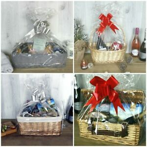 Wicker Hampers Christmas Gift Baskets Make Your Own Hamper Kit Gift Packaging