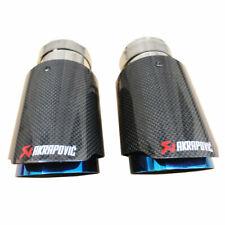 Pot Échappement Akrapovic 2 Embouts Universel Silencieux Fibre Carbone 63-89 mm