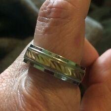 Sale! 10K Gold Men's Wedding Ring Size 10