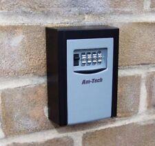 Acero de alta seguridad Caja de clave de montaje en pared con cerradura de combinación/coche/claves de Tienda Seguro