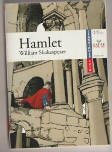 Hamlet - William Shakespeare . Hatier poche avec Dossier.