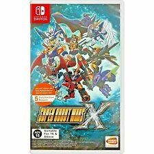 SWITCH SUPER ROBOT WARS X  ASIA ENGLISH NEW SEALED PAL & NTSC COMPATIBLE