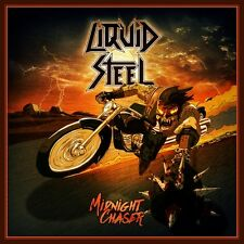 LIQUID STEEL - Midnight Chaser (NEW*AUSTRIA HEAVY METAL*SKULL FIST*ENFORCER)