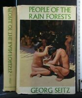PEOPLE OF THE RAIN FORESTS. Georg Seitz. Heinemann.