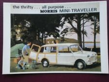 POSTCARD MORRIS MINI TRAVELLER THE THRIFY ALL PURPOSE