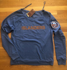 Mitchell & Ness New York Islanders Womens Sweatshirt Size Large Nwt Vintage Look