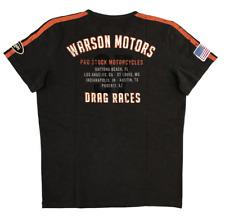 Warson Motors T-Shirt Drag Races Carbon, Johnny