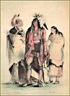 Currier & Ives |  North American Indians  Art Print