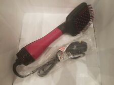 Revlon Pro Collection One Step Hair Ionic Dryer and Brush Styler Pink RVDR5212