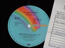 STEPPENWOLF -Live- 2xLP MCA Coral Archiv-Copy mint