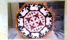 2'X2' Dining Breakfast Lunch Use Coffee Corner Center Table Top Inlay Malachite