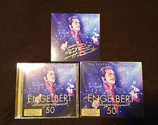 Signed Engelbert Humperdinck 50 Music CD Card 2 Disc Rare Release Me Collection