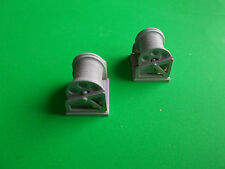 Pair of Rope Reels. (L)  1/32  to 1/48 scale.  Model Boat Fittings.