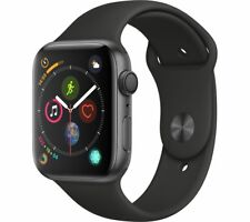 APPLE Watch Series 4 - Space Grey & Black Sports Band, 44 mm - Currys