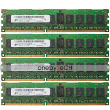 Micron 32GB 4x8GB 1RX4 PC3-14900R DDR3-1866 CL13 1.5v 240 pin Registered Memory