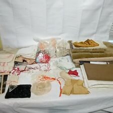 Teddy Bear Making Supplies Lot With Fur And Accessories!