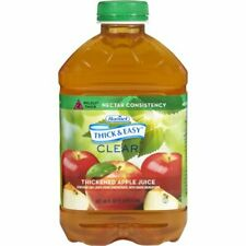 Thick & Easy Clear Thickened Apple Juice, Nectar Consistency, 46 Ounce (Pack of