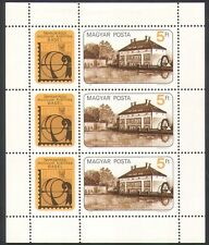 Hungary 1983 Water Mill/Buildings/Architecture/Industry/Stampex 3v sht (n34871)