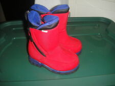 LANDS END 6 RED WINTER SNOW BOOTS TODDLER