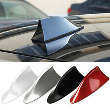 Universal Car Shark Fin Roof Antenna Radio FM/AM Decorate Aerial Black Exquisite