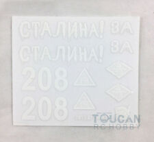 HengLong 1/16 Scale Russian T34-85 RC Tank 3909 Decal Sticker Accessory