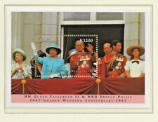 1997 ZAMBIA GOLDEN WEDDING ANNIVERSARY MINIATURE SHEET PERF