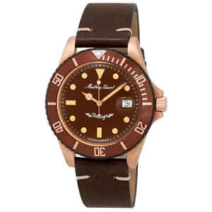 Mathey-Tissot Mathey Vintage Bronze Automatic Brown Dial Men's Watch H901BZM