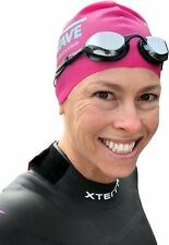 New Wave Fusion 2.0 Swim Goggles for Triathlon & Open Water Swimming Silver Rush