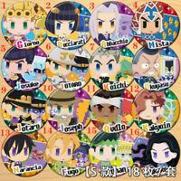 "Anime JoJo's Bizarre Adventure badges Pins Schoolbag 5.8CM(2.3"")"