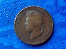 MONNAIE  LOUIS PHILIPPE Ier DE 10 CENT DE 1841 A GUADELOUPE