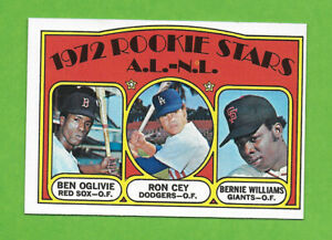 1972 Topps #761 Ron Cey ROOKIE Los Angeles Dodgers +2 high number TOP NOTCH!