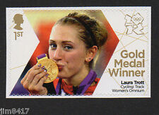 2012 SG 3362 1st Olympic Gold Medals Winners - Laura Trott – Cycling