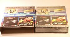 PC GAMES 2IN1 PACK CASTROL HONDA SUPERBIKE TEST DRIVE 4 WIN 95/98 UNOPENED