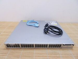 Cisco Catalyst WS-C3850-48U-E Stackable 48 10/100/1000Ethernet UPOE ports Switch